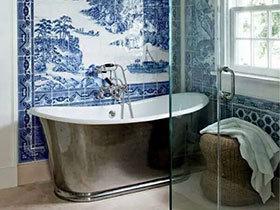10个中式风格卫生间装修 优雅清新之美