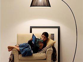 阅读空间好帮手  10款落地灯布置摆放图
