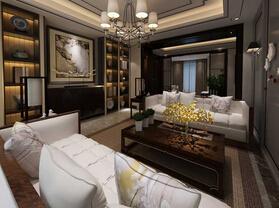 奢华高端新中式别墅样板房欣赏
