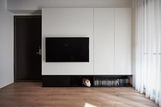 简约电视背景墙设计图