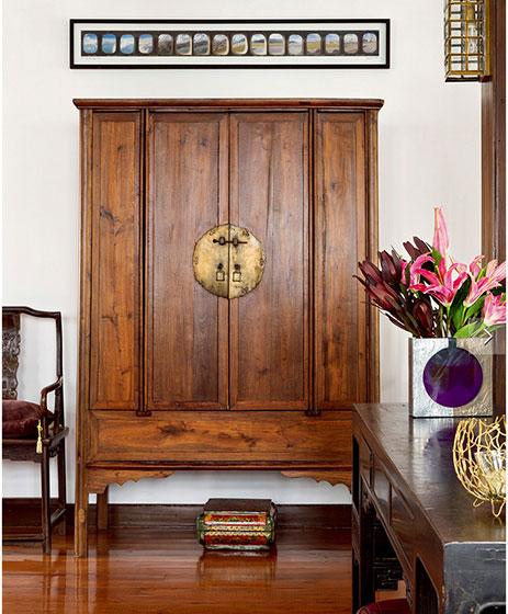 明清中式古典家具衣柜图片