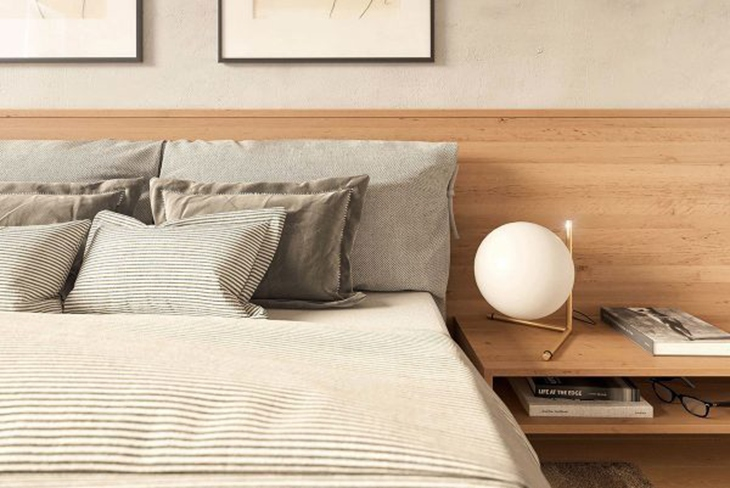 日式装修风格卧室平面图