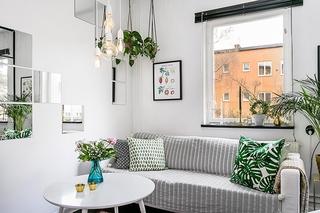 白色调装饰客厅设计图