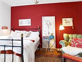 彩色卧室搭配图片 卧室不再单调