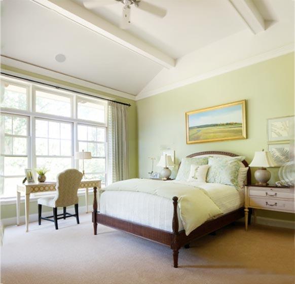 色彩卧室设计平面图