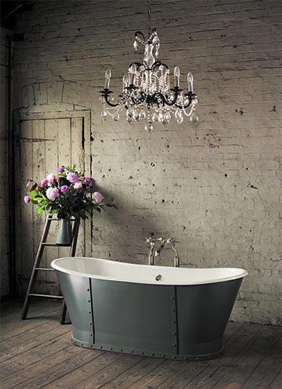 复古风浴室设计参考图
