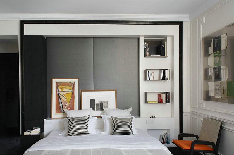 现代风格公寓主卧室效果图