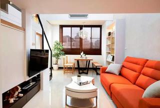48平loft装修客厅设计图
