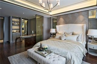 豪华型现代简欧风主卧室设计