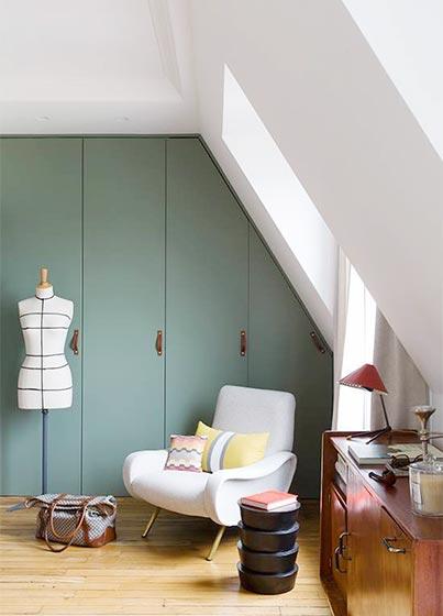 创意阁楼客厅装修装饰图片