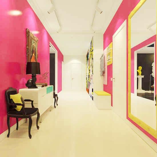走廊收纳设计平面图片