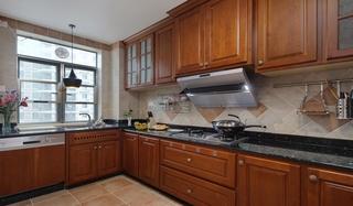 田园风格装修厨房设计效果图