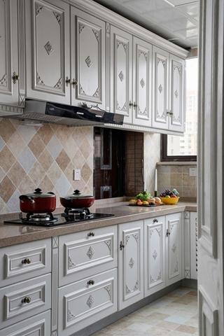 欧式风格装修厨房橱柜装修