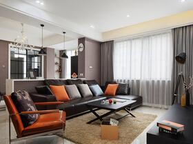 时尚风格设计 很有品位的三居室装修