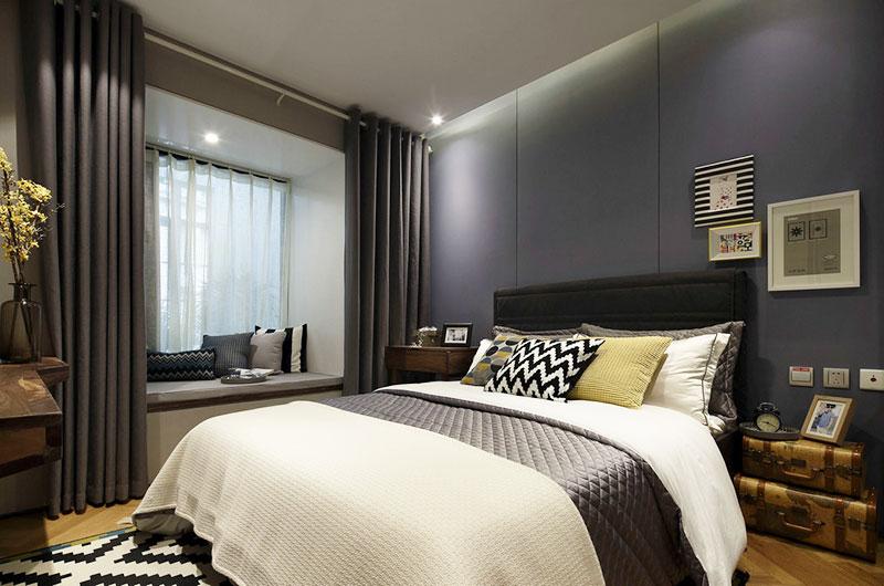 时尚都市混搭风 卧室装饰效果图