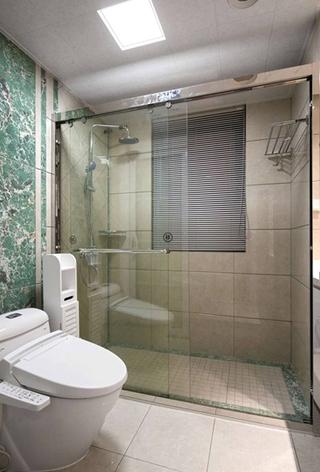 85平宜家小两居装修干湿分离卫生间