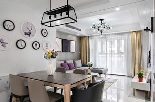 30万装85平小两居 最爱的宜家风格装修小户型客厅设计