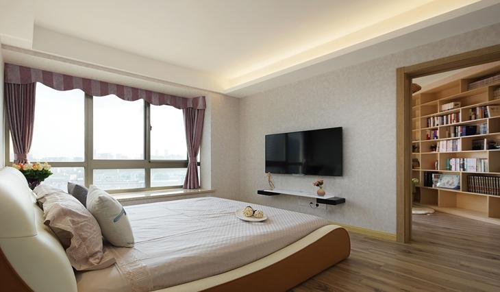 简约风格小公寓装修卧室效果图设计
