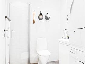 清爽简洁卫生间图片 最爱北欧风