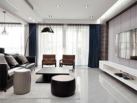 130㎡现代风格公寓设计图片  典藏家居
