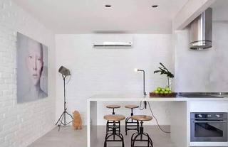 简约两居室厨房吧台设计图