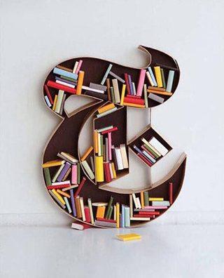 创意书架装修装饰效果图