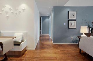 160平米现代风格走廊效果图