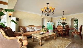 混搭风格装修 别有韵味的设计形式客厅效果图