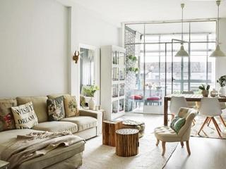 森系小清新 让简约风格装修更美妙客厅效果图