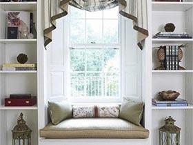 浪漫卧室飘窗实景图 尽享悠闲时光