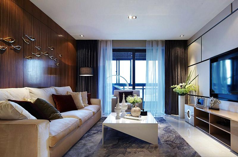 高端后现代风格 客厅装饰效果图
