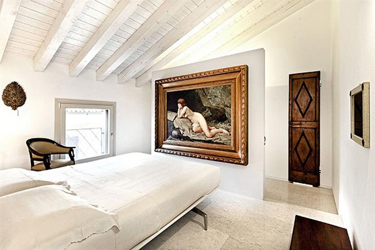 复古北欧风 阁楼卧室效果图