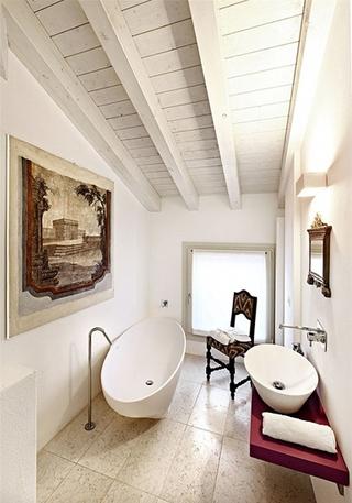 北欧风舒适小复式装修 最爱特色的家卫生间效果图