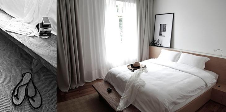 舒适宜家风卧室实景图