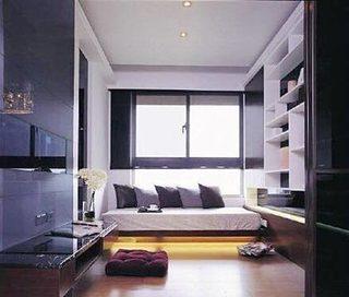卧室地台设计摆放图