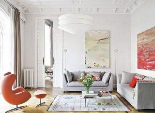 色彩搭配客厅装修装饰效果图