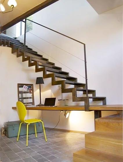 楼梯空间改造装修装饰效果图