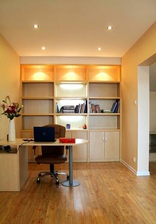 温馨简约的美家装修 舒适的三居室装修书房效果图