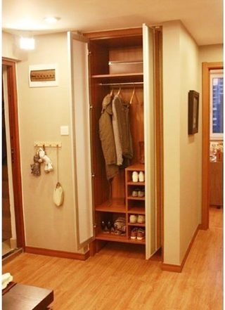 玄关柜设计布置图片大全