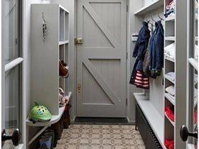 家庭好门面  10款玄关柜布置图片