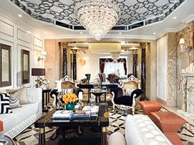 奢华中世纪欧式 公寓样板房装修