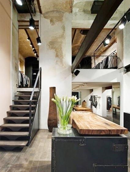 loft公寓设计摆放图