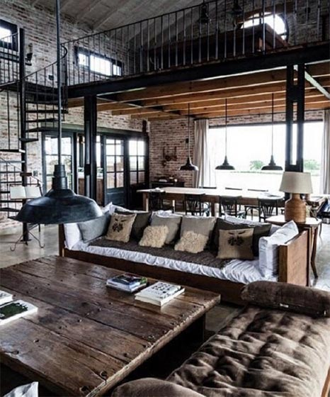 loft公寓设计平面图片