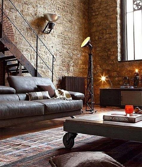 loft公寓设计装修效果图
