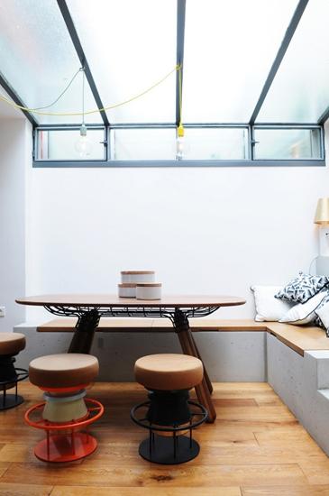 小户型loft风格装修餐厅木地板装修