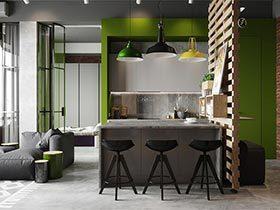 70㎡北欧单身公寓设计图   我单身我快乐