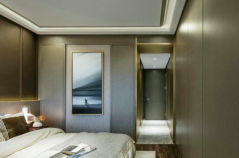 简约风格公寓次卧室装修图