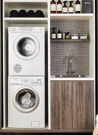 洗衣房收纳装修装饰效果图