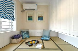 舒适优雅美式 榻榻米休闲室设计