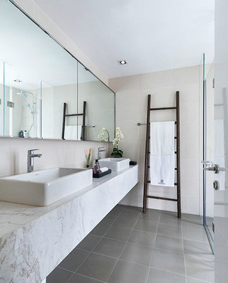 简约风格别墅卫生间装潢设计图